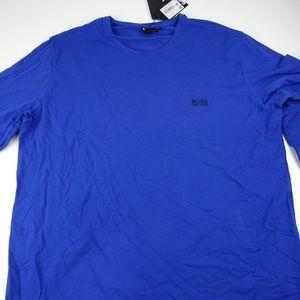 Hugo Boss Men's Blue Sweater Long Sleeve Shirt NWT